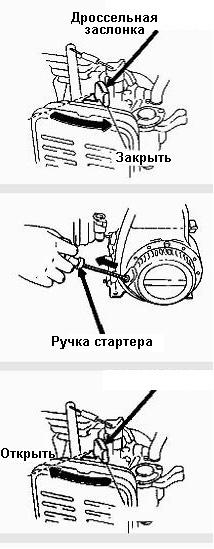 Запуск генератора